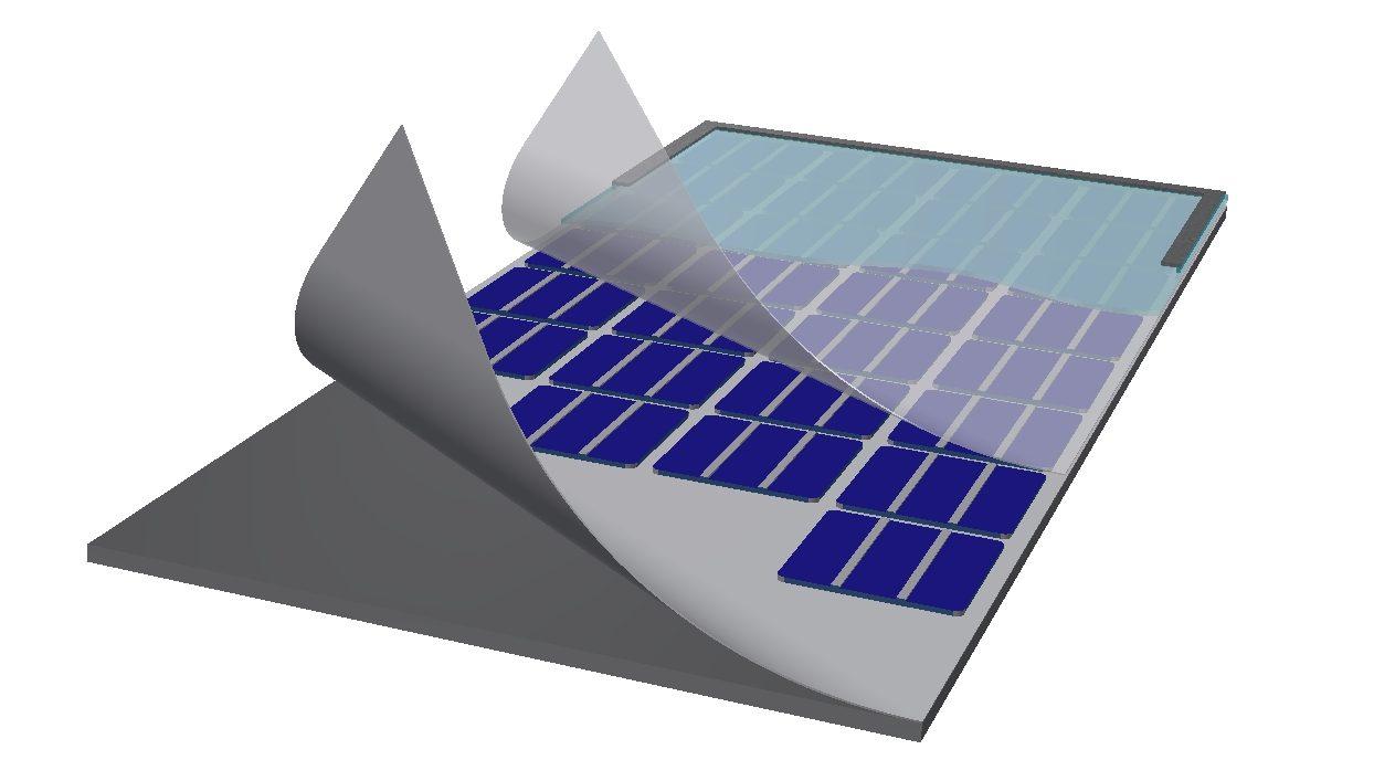 из чего состоит солнечная панель