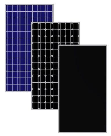 виды солнечных элементов