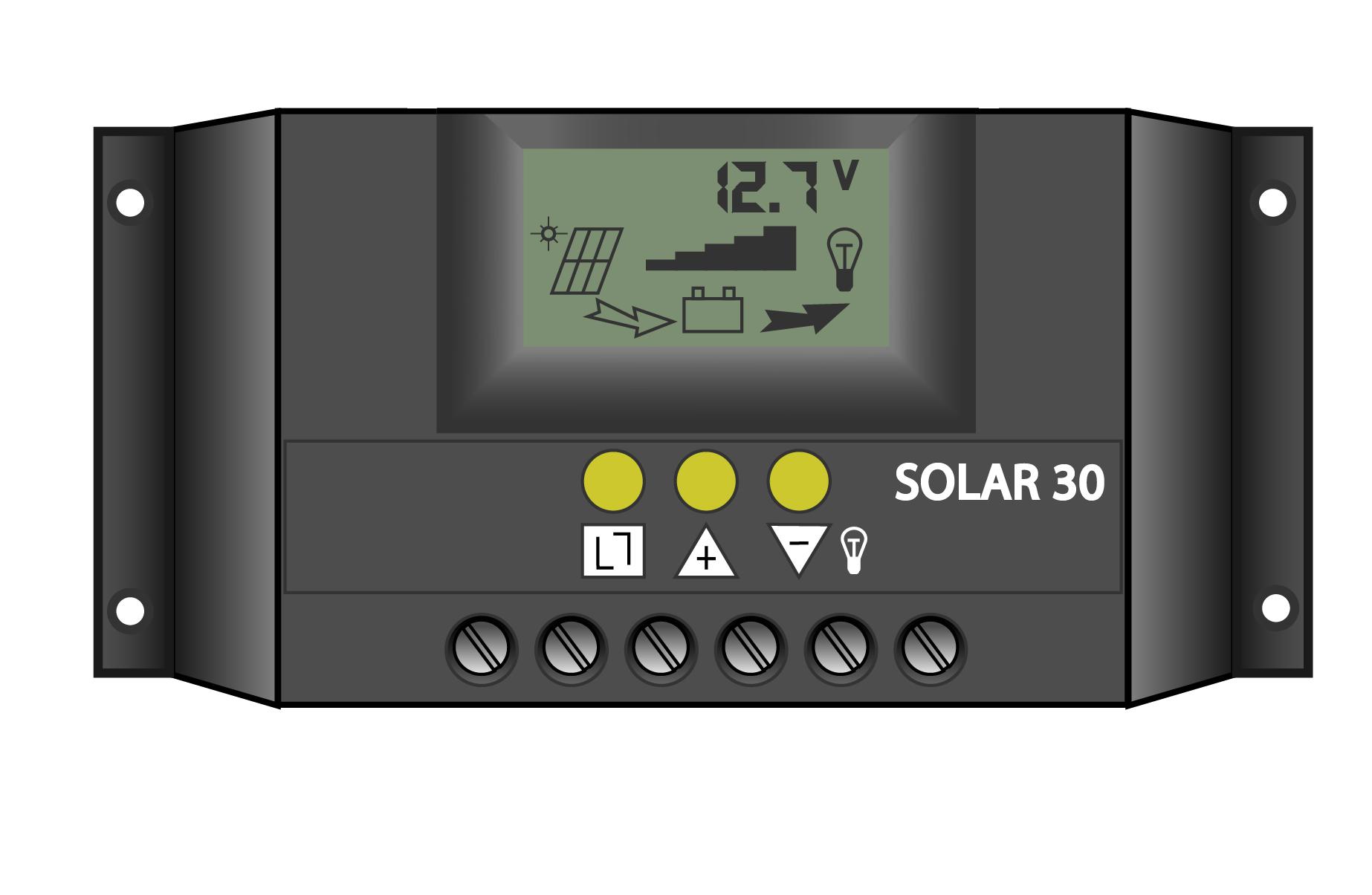 схема контролера заряда аккумултора солнечных батарей