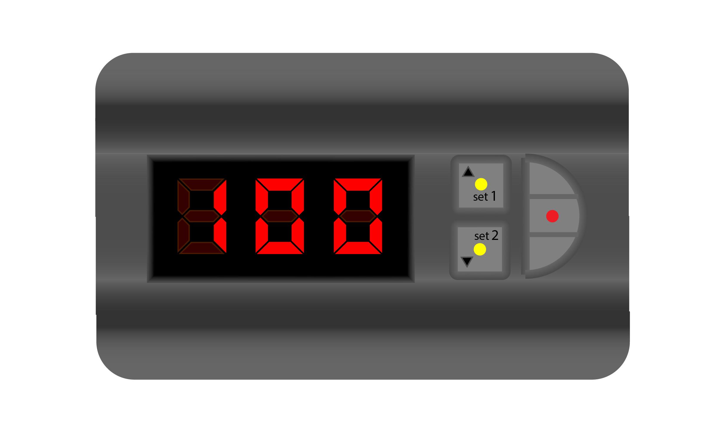 схема On/Off контроллера заряда